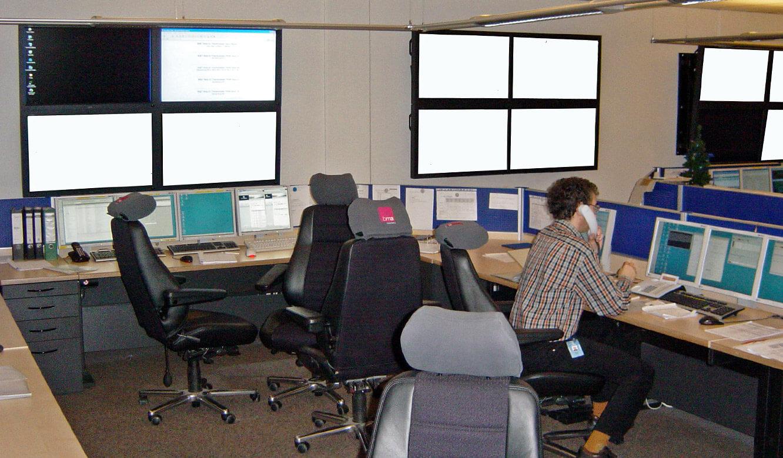 T-Systems International - Leitstand von JST