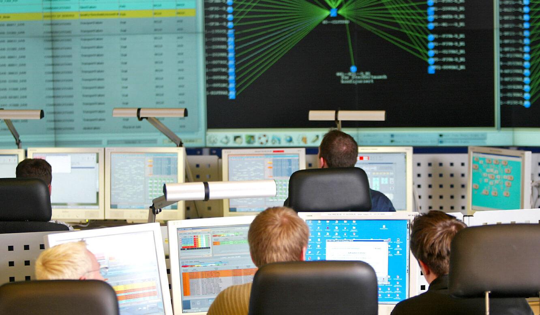 JST Deutsche Telekom Bamberg Network-Management-Center Arbeitsplätze