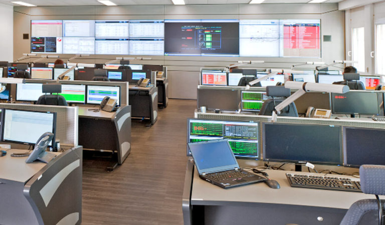 JST Referenzen - UniCredit Wien - Controlroom