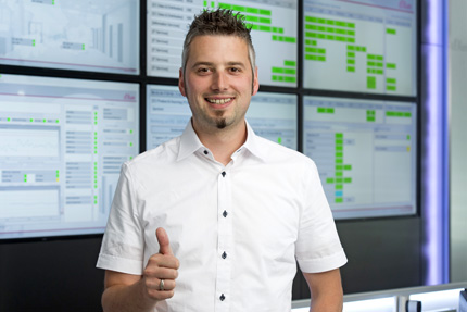 JST References - s.Oliver - Marius Förster, Manager of the operational IT-Department