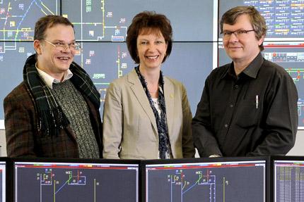 JST-BVG-Projektleiter sind begeistert