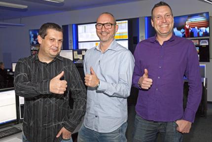 JST - Netcologne - Operatoren und Projektleiter sind zufrieden