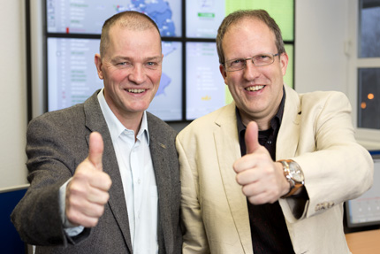 JST references - SAG-Berlin: Project managers Klauspeter Pein and Torsten Stutterheim are satisfied