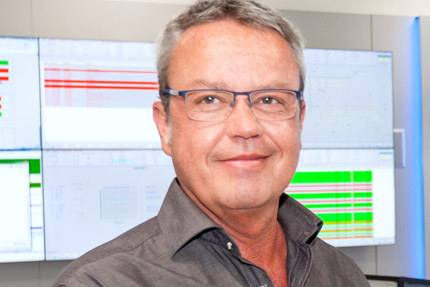 JST - Siemens Wegberg: Project Manager Dirk Wienforth praises the new control room