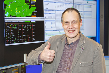JST References - Stadtwerke Ratingen - Christoph Wirthmueller makes a strong statement for the new control room