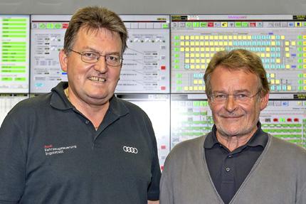 JST-Referenzen - AUDI Ingolstadt - Werner Mengert und Heinz Braun