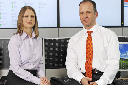 JST Referenzen - Finanzinformatik Technologie Service - Christina Berger und Roland Discherl