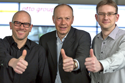 JST Referenzen - Otto Group Hamburg: Andreas Scollick, Klaus Steffen, Reinhold M. Segert