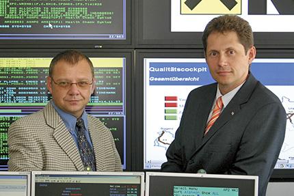 JST - Raiffeisen-Informatik: Kurt Jelencsits und Peter Jäckel