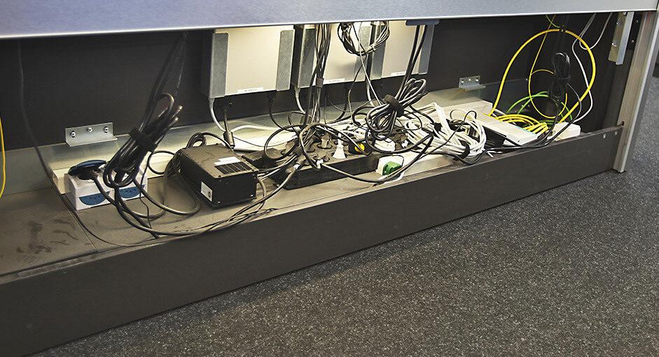 Die CommandBox im Einsatz in der Facility-Leitwarte bei Roche