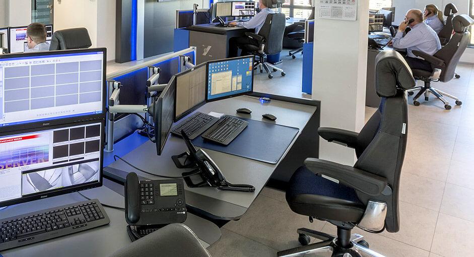 NWSG: Der Recaro24-Operatorstuhl im Einsatz in einer Security-Leitstelle