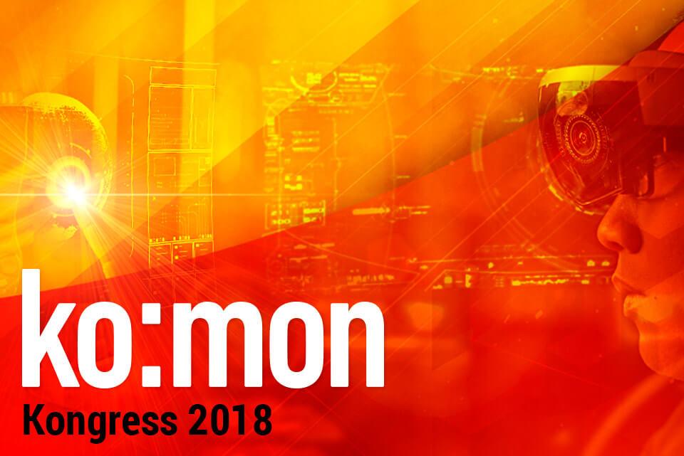 ko:mon Kongress 2018: Agenda ist online - Anmeldungen laufen!