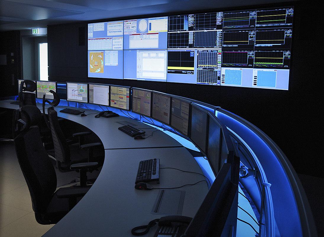 Stratos X11-Kontrollraum-Möbelsystem