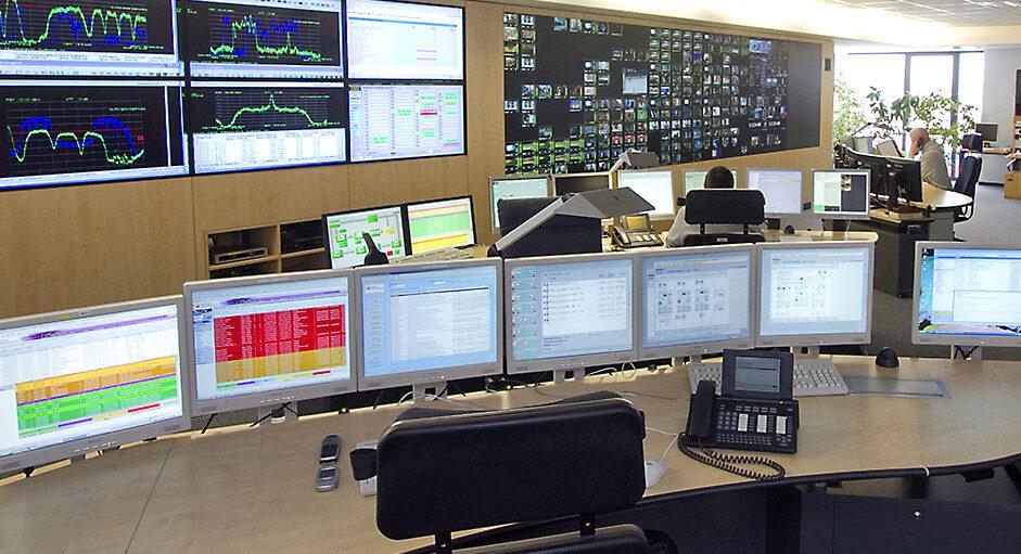 Grafik-Controller im Betrieb des NOC bei MediaBroadcast