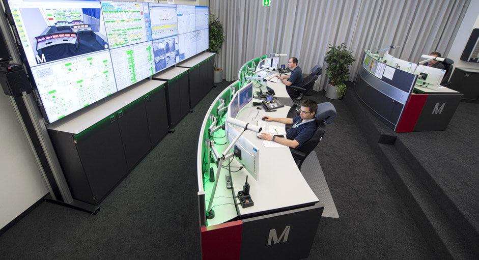JST-Architektengerechte Planung. Technische Konzeption beim Flughafen München