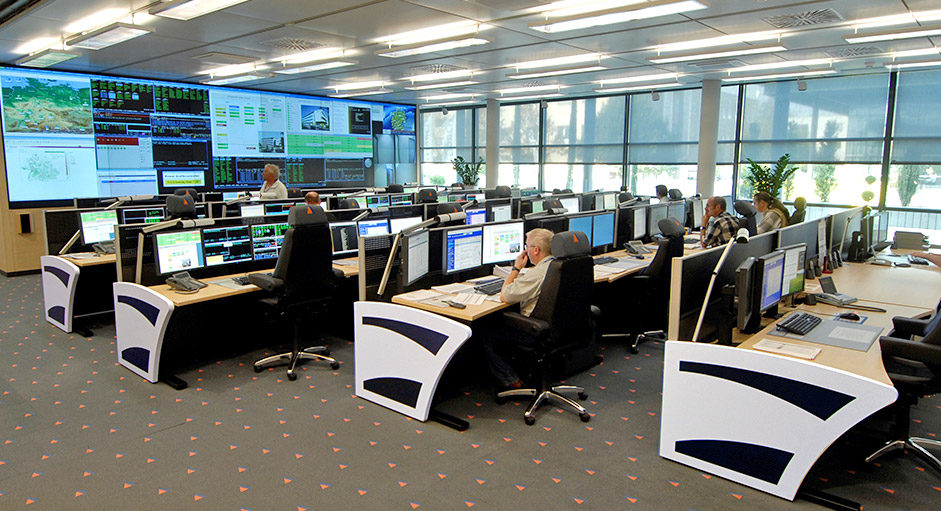 Kontrollraum-Remote im Einsatz bei der Fiducia