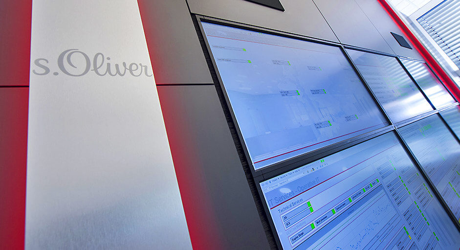 MultiConsoling® im Einsatz in IT-Leitstand bei s.Oliver
