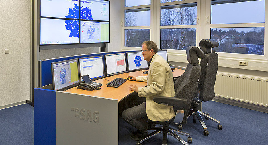 KVM Extender in use at SAG in Berlin