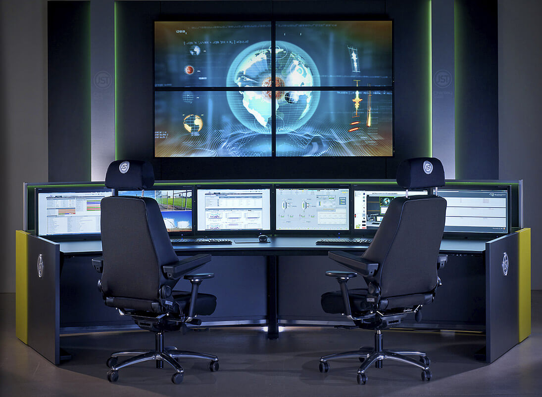 Recaro-Operator-Stuhl für die moderne Leitwarte