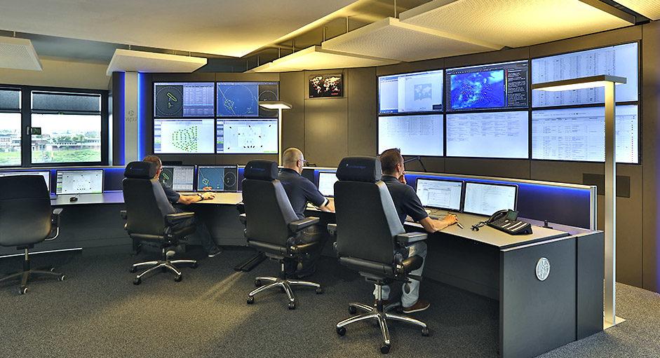Die CommandBox im Einsatz in der Leitwarte bei WPD