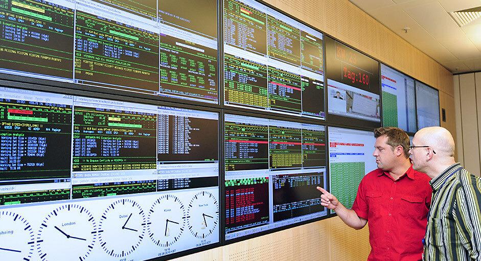 Kontrollraum-Remote im Einsatz bei der Allianz München