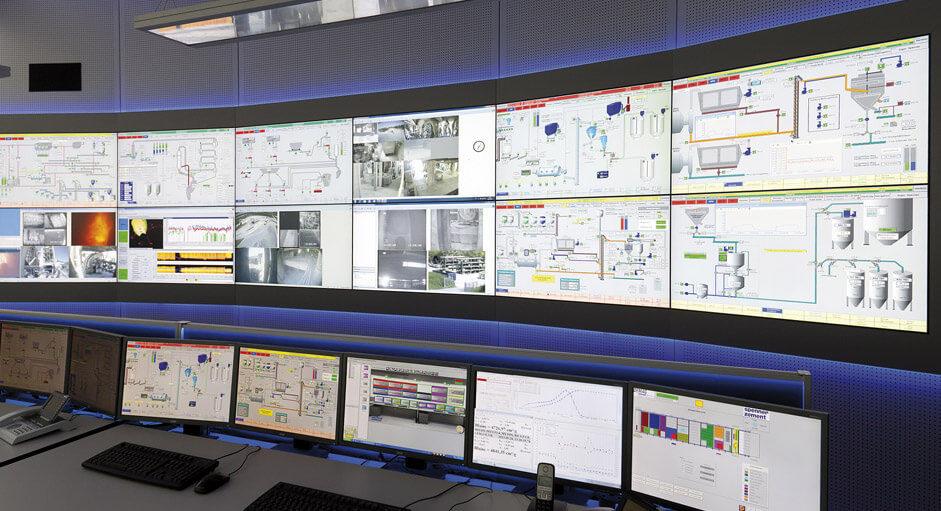 JST-Architektengerechte Planung. Technische Konzeption der Zementwerk-Leitwarte