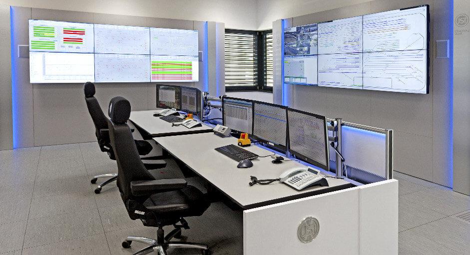 Die CommandBox im Einsatz in der Leitwarte der Siemens AG