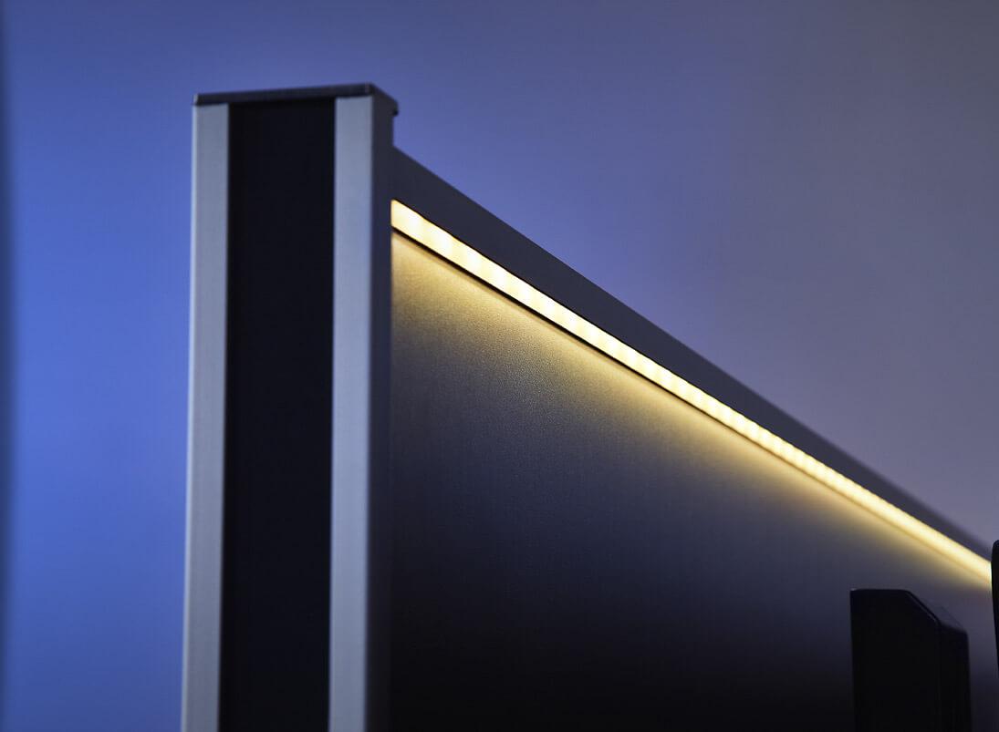 Kontrollraum-Möbel-System von JST. Ambientlight