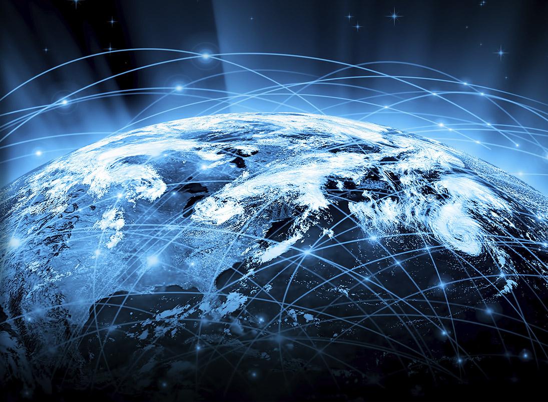 ControlRoom-Remote: Bild der vernetzten Erde