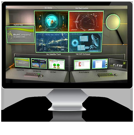 Multiconsoling®: Steuerung von Großbildwand & Videowand von JST Jungmann