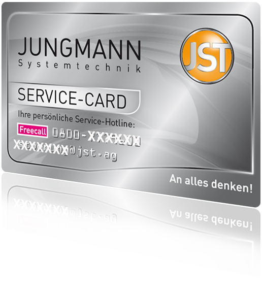 JST Wartung-Service-Card