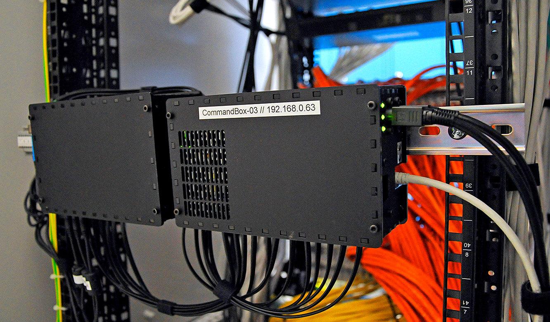 JST-Messe Berlin: CommandBox und Modul zur Audioerkennung