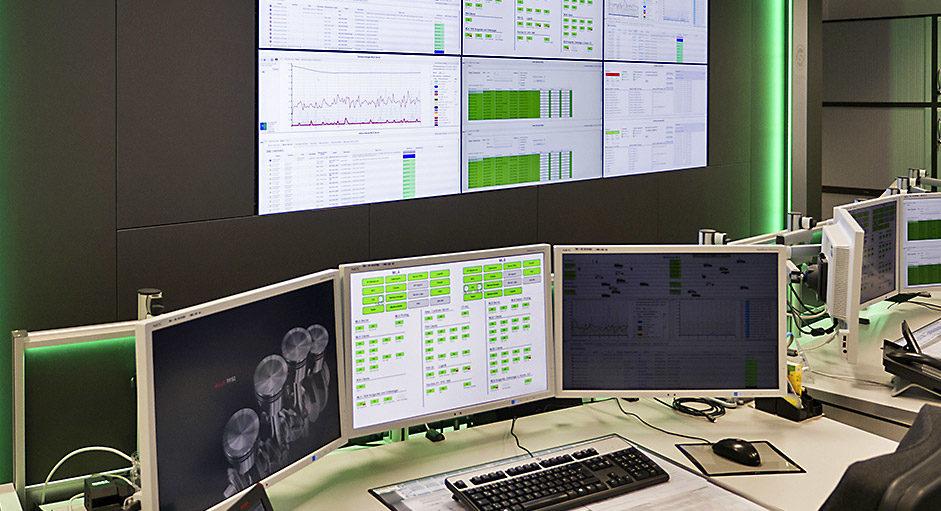 PixelDetection® im Einsatz im Leitstand der Audi AG