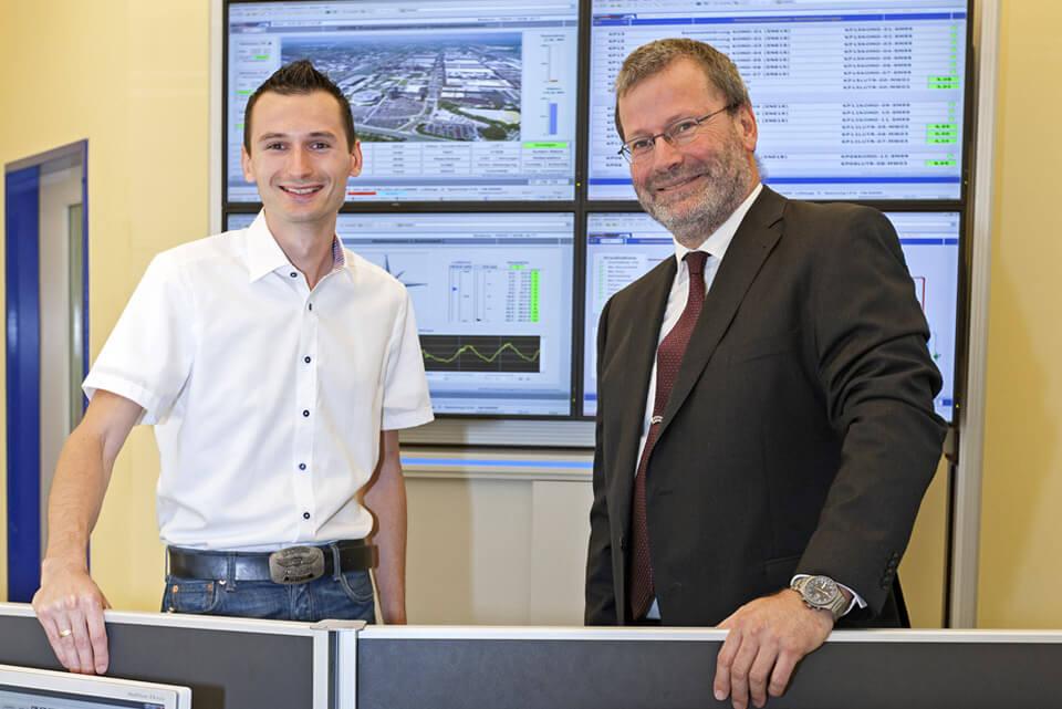 JST-News: Leitstand Volkswagen Kraftwerk