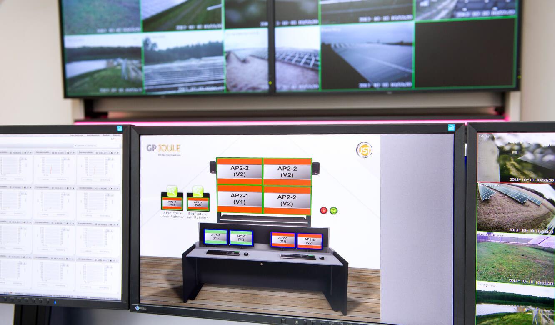 JST - GP Joule Kontrollraum: Die myGUI dient als Bedienoberfläche für das MultiConsoling®