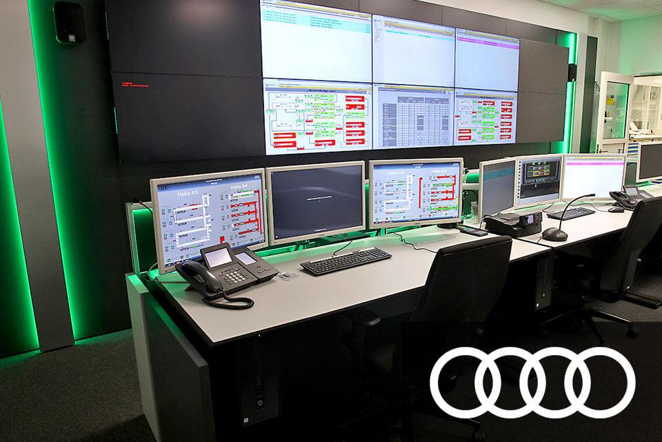 JST Aktuelles: Audi Montageleitstand Ingolstadt