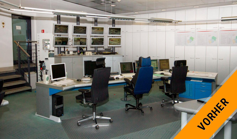 JST - ovag Netz GmbH - Netzleitstelle: vor der Modernisierung