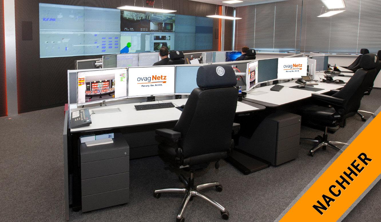 JST - ovag Netz GmbH - Netzleitstelle: nach der Modernisierung