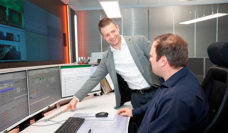 JST - ovag Netz GmbH - Netzleitstelle: moderne Technik für effiziente Leitwartensteuerung