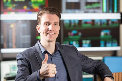 JST Netze Magdeburg: Projektleiter Karl-Ludwig Stephan