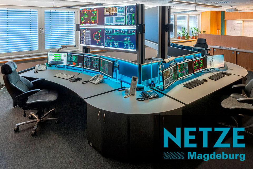 JST Aktuelles: neue Leitwarte für Netze Magdeburg