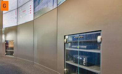JST DisplayCover - Medienschränke mit Ganzglastüren