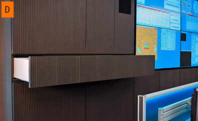 JST DisplayCover - Sound absorbing wooden panels