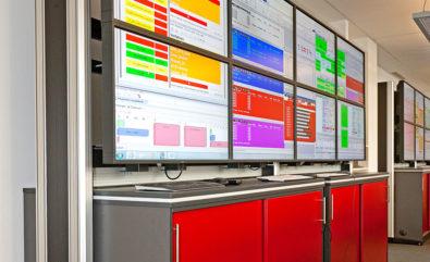 JST DisplayWall aus vielen Monitoren