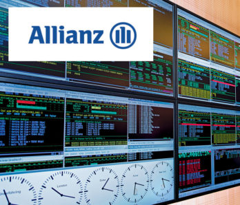 JST DisplayWall - Praxisbeispiel Allianz