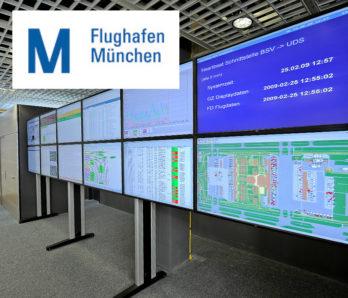 JST DisplayWall - Praxisbeispiel Flughafen München