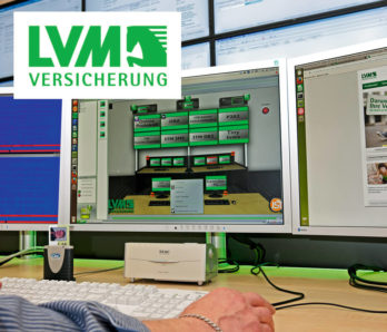JST DisplayWall - Praxisbeispiel LVM Versicherungen