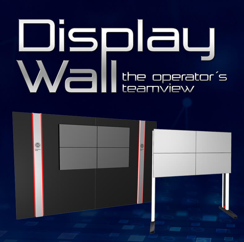 JST DisplayWall - The OperatorsView
