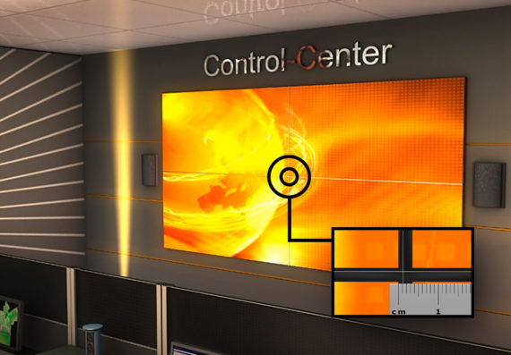 JST DisplayWall: ultraschmale Rahmenbreite