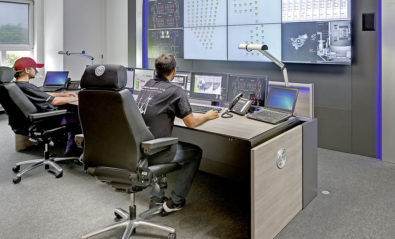 JST Stratos X11 control room console in use at Adwen